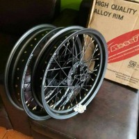 harga Velg Sprint Rossi Xd Ring 17 Depan 3in Blkng 3.5in Scorpio Tokopedia.com