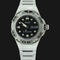 Seiko Divers 200M STM001P1 Stainless | Jam Tangan Selam STM001P1