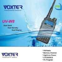 Harga handy talky ht voxter uv w8 waterproof radio | antitipu.com