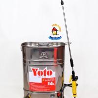 Sprayer / Penyemprot tanaman Baterai / Elektrik YOTO type YT-14BTR/SS