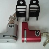 Gembok Cakram Motor Merk Wo Kunci Pengaman Motor Kualitas Bagus Murah