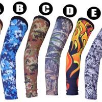 Jual Manset Tangan Full Print, Full Collor | Pelindung Tangan Bahan Polar Murah