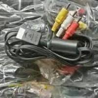 Kabel AV/RCA ps2/ps3 original pabrik