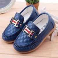 harga SHOB 0017 Sepatu Anak Import Korea New Hermes Biru Dongker Tokopedia.com