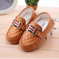harga SHOB 0019 Sepatu Anak Import  Korea New Hermes Brown Coklat Tokopedia.com