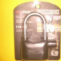Gembok Alarm Motor Original Hologram Tulisan Kin Bar