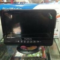 TV LED MONITOR DIGIMEDIA 9,5 inc USB MOVI plus BATRE CHRGER