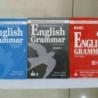 paket 3 buku ENGLISH GRAMMAR ( BETTY SCHRAMPFER AZAR ).