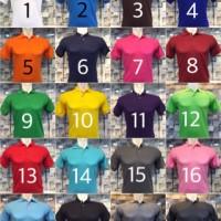 Jual Kaos Polo Shirt Polos / Kaos Kerah / Kaos Polo Murah