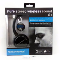 SALE!! Headset Harman / Kardon Bluetooth Q1 ( Super Bass ) WB6W
