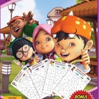 Mewarnai Alfabet Bersama Boboiboy oleh Animonsta Studio Sdn. Bhd