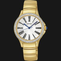 jam tangan wanita Seiko original SRZ442P1 (ripcurl fossil gc bonia ac)