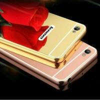 bumper mirror lenovo S60 bumper aluminium+acrylic back case pc
