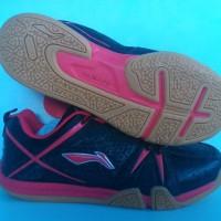 Sepatu Badminton / Bulutangkis Lining Idol Black/Red