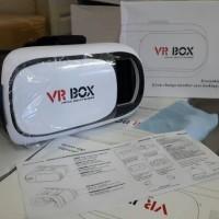 Virtual 3D Reality Glasses VR Box Smartphone Slide in Ponsel V2