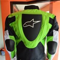Jaket Motor keren untuk Touring   Alpinestar RC1 (Hitam-Merah)