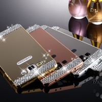 Luxury Bling Rhinestone Diamond Samsung Galaxy Mega Grand 2 Grand Duos