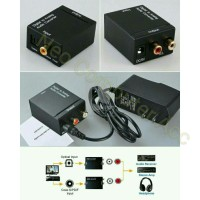 Digital Audio Optic / Coaxial to Analog (RCA) Audio Converter