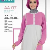 Atasan Busana Muslim Alnita AA-07 pink