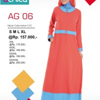 Gamis Alnita AG-06 Merah