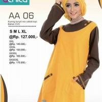 Atasan Busana Muslim Alnita AA-06 Kuning
