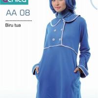Atasan Busana Muslim Alnita AA-08 Biru.