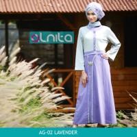 GAMIS BUSANA MUSLIM Alnita AG-02 Lavender