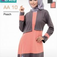 Atasan Busana Muslim Alnita AA 10 Peach