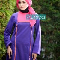 Atasan Busana Muslim Alnita AA ungu
