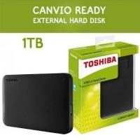 HDD Harddisk Hardisk External Toshiba Canvio 1TB