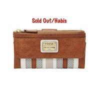 harga Dompet Authentic FOSSIL Emory patchwork brown leather Original Asli Tokopedia.com