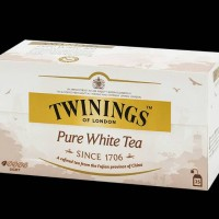 Twinings Pure White Tea 25 sachets Teh Putih Import