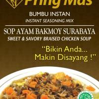 Bumbu Pring Mas Sop Ayam Bakmoy 120 gr