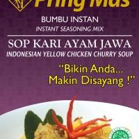 Bumbu Pring Mas Sop Kari Ayam Jawa 120 gr