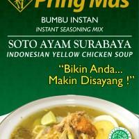 Bumbu Pring Mas Soto Ayam Surabaya 120 gr