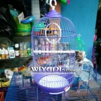 harga [K25] Kandang Burung / Sangkar Burung Besi Parkit / Kenari / Lovebirds Tokopedia.com