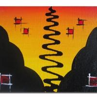 harga Lukisan Abstrak 1 Kanvas ( 40x30 ) Tokopedia.com