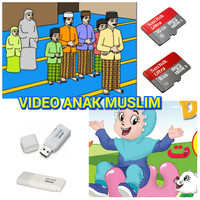 Flashdisk / Micro SD Video Anak Muslim 16 GB