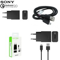 harga Official Sony Quick Charge 2.0 15W Charger UCH10 (Qualcomm Certified) Tokopedia.com