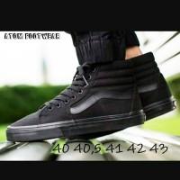 Sepatu Vans Sk8 Full Black