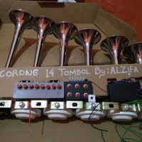 Telolet 6 Corong 14 Tombol Alzifa