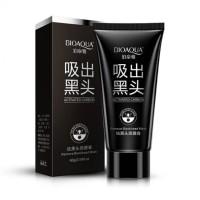 Harga masker bioaqua black cream acne pulling mask lumpur wajah   Pembandingharga.com