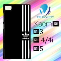 Custom Casing HP Xiaomi Mi3. Mi4, Mi4i, Mi5 Adidas Logo Black White Z3
