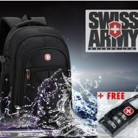 ... harga Tas laptop kerja Ransel backpack Polo rain cover swiss gear travel bag Tokopedia.com