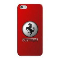 Casing Hp Custom Red Ferrari iPhone 4/4s/5/5s/6/6+