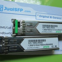 SFP BIDI 1Gb Single Core Fiber 40km Cisco, Mikrotik, Alcatel  HP