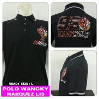 polo shirt L marc marquez lis mm 93 baby alien moto GP kaos kerah