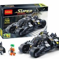 Jual lego kw batmobil batman decool 7105 super heroes Murah