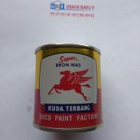 Cat Kuda Terbang Gold / Emas (0,1 liter)