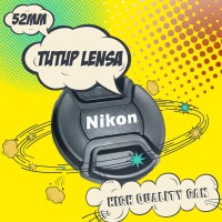 Tutup Lensa Nikon 52mm Lens Cap 18-55 Kit